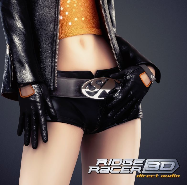Photo1: RIDGE RACER3D DIRECT AUDIO (1)