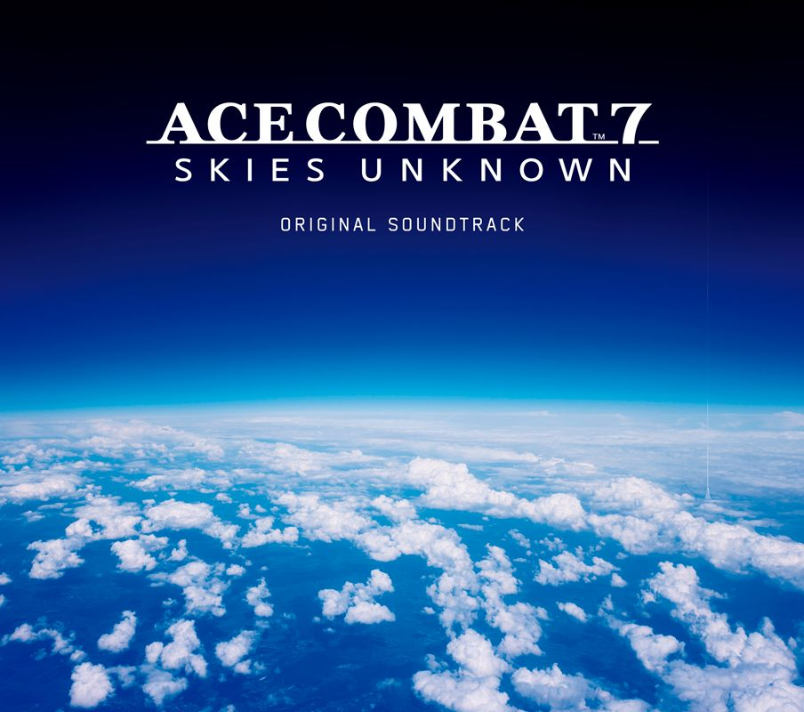 Photo1: ACECOMBAT7 SKIES UNKNOWN Original Sound Tracks (1)