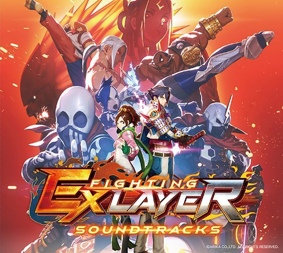 Photo1: FIGHTING EX LAYER Soundtracks (1)